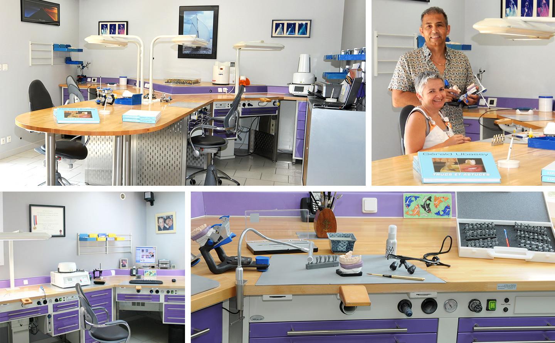 prothesiste dentaire laboratoire